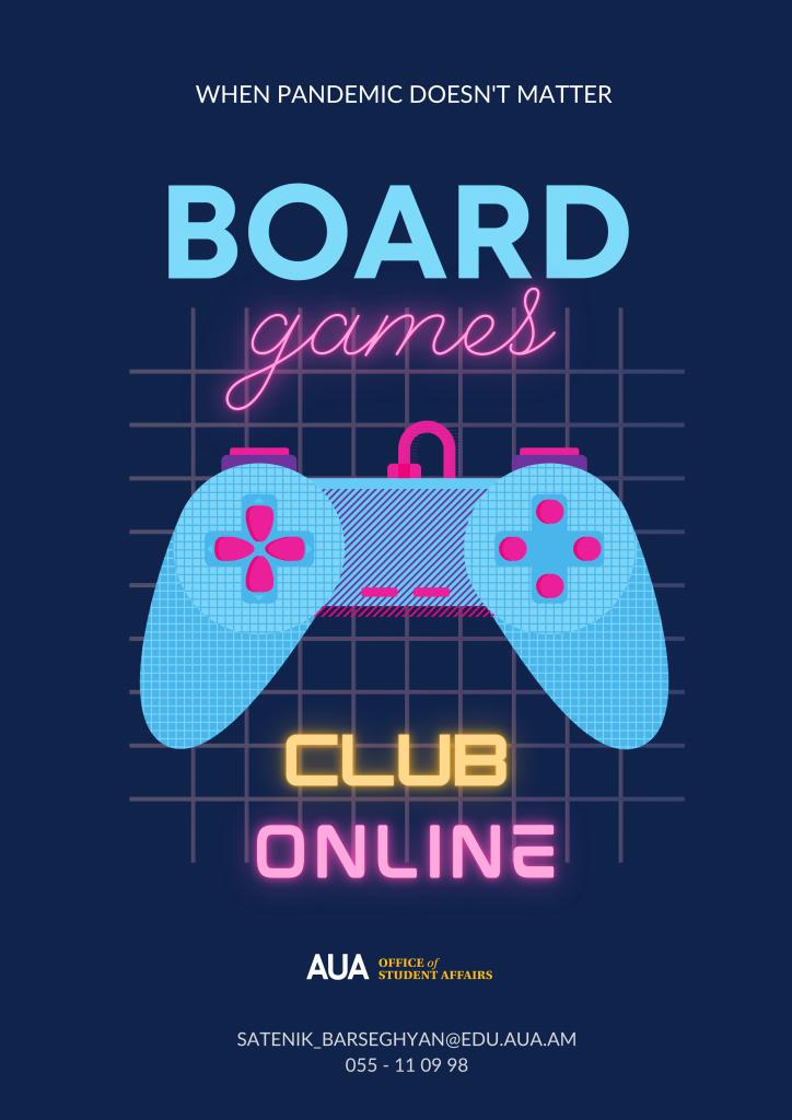 AUA Board Games Club